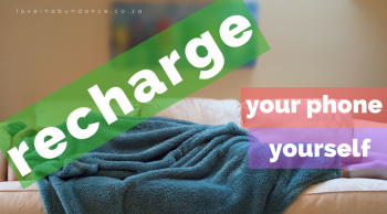 recharge your phone