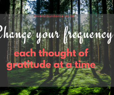 change your frequency