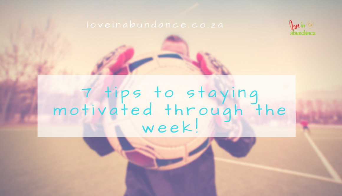 7 tips to staying