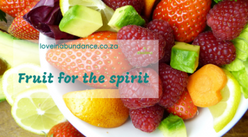 fruit for the spirit