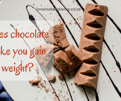 does chocolate make you gain weight