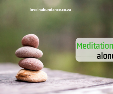 meditation and time alone