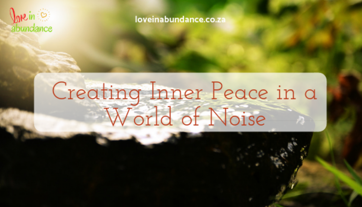 Creating Inner Peace Article Banner